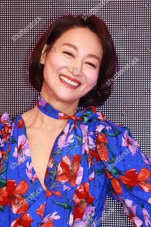 Editorial picture of Kara Wai celebrates winning the 'Best Actress of Hong Kong' award, Hong Kong, China - 29 Apr 2019