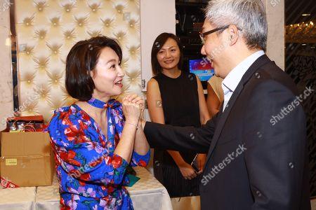 Stock Image of Kara Wai and guests