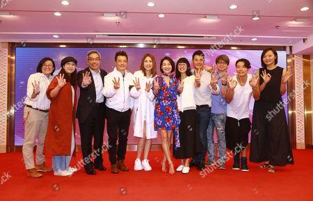 Editorial photo of Kara Wai celebrates winning the 'Best Actress of Hong Kong' award, Hong Kong, China - 29 Apr 2019