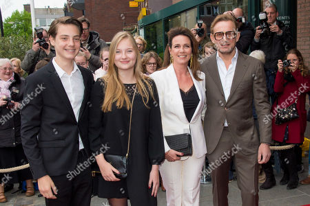 Prince Bernhard and Princess Annette and Isabella and Samuel