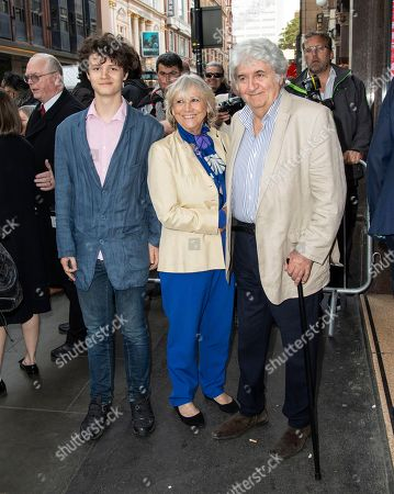 Tom Conti and Kara Wilson are seen the Man of La Mancha opening night at the London Coliseum in London.