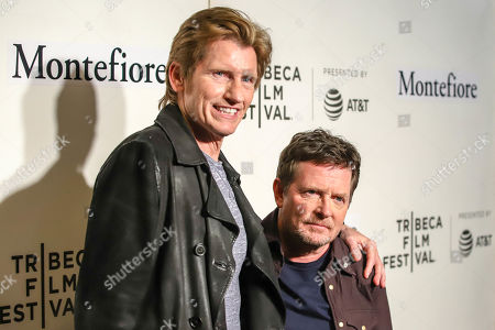 Denis Leary and Michael J Fox