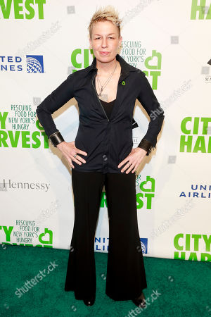 Elizabeth Falkner attends City Harvest's 36th annual benefit gala at Cipriani 42nd Street, in New York