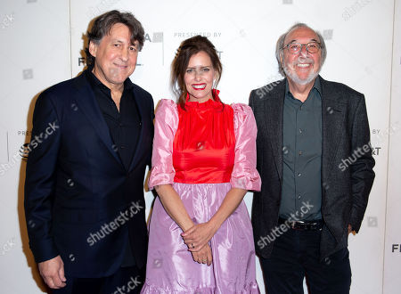Stock Picture of Cameron Crowe, Ione Skye and James L Brooks