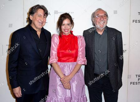 Cameron Crowe, Ione Skye and James L Brooks