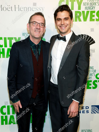Ted Allen, Antoni Porowski. Ted Allen, left, and Antoni Porowski, right, attend City Harvest's 36th annual benefit gala at Cipriani 42nd Street, in New York