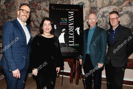Graham Parker, Michele Anthony, Ron Howard, Dickon Stainer