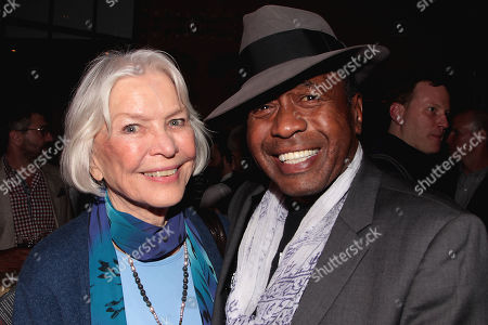 Ellen Burstyn and Ben Vereen