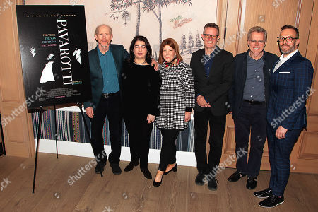 Ron Howard, Michele Anthony, Terry Press, Dickon Stainer, Nigel Sincair, Graham Parker