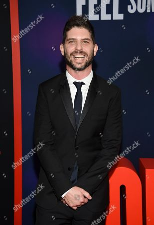"Jonathan Levine attends the premiere of ""Long Shot"" at AMC Loews Lincoln Square, in New York"