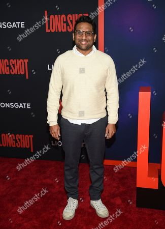 "Ravi Patel attends the premiere of ""Long Shot"" at AMC Loews Lincoln Square, in New York"