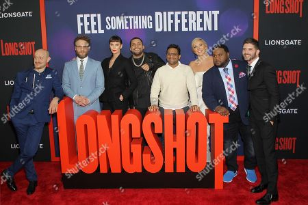 "Editorial picture of New York Special Screening of LionsGate's ""LONG SHOT"", USA - 30 Apr 2019"