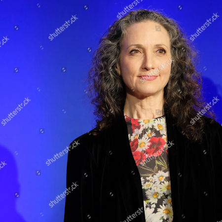 Bebe Neuwirth participates in the 73rd annual Tony Awards nominations announcement at the New York Public Library for the Performing Arts at Lincoln Center, in New York