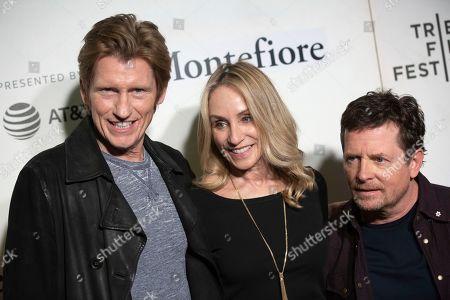 "Editorial image of 2019 Tribeca Film Festival -""Tribeca Talks - StoryTellers: Michael J. Fox with Denis Leary"", New York, USA - 30 Apr 2019"