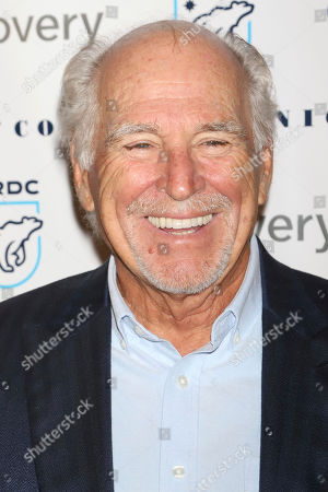 """Stock Image of Jimmy Buffett attends the Natural Resources Defense Council's """"Night of Comedy"""" benefit at the New-York Historical Society, in New York"""