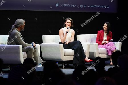Stock Image of Elvis Mitchell, Phoebe Waller-Bridge and Sian Clifford