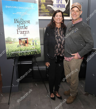 Laurie David (Executive Producer) and John Chester (Director)