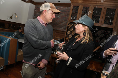 Stock Image of John Chester (Director) and Maria Cuomo Cole