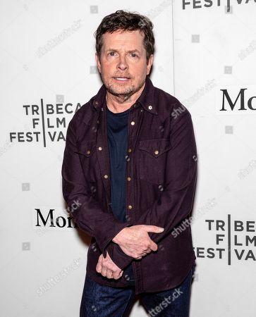 Editorial photo of 'Tribeca Talks - StoryTellers: Michael J. Fox with Denis Leary', Tribeca Film Festival, New York, USA - 30 Apr 2019