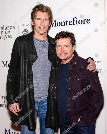 Stock Photo of Denis Leary and Michael J Fox