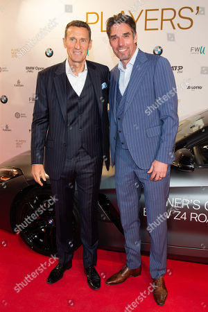 Stock Image of Patrik Kuhnen and Michael Stich