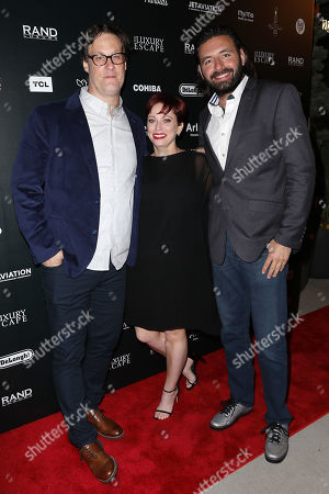Sheena M. Joyce (Producer), Don Argott (Director) and Tamir Ardon (Writer)