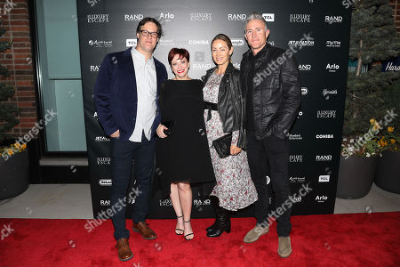 Sheena M. Joyce (Producer), Don Argott (Director), Jennifer Cooper and Chase Utley