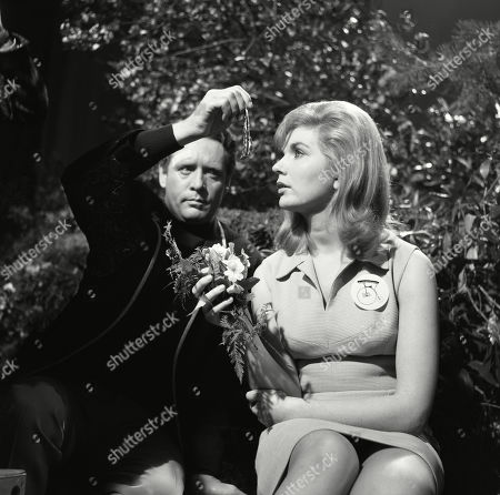 Stock Image of Patrick McGoohan, as Number Six, and Angela Browne, as Number Eighty-Six