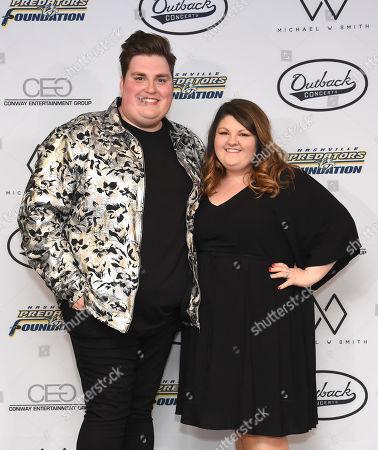 Jordan Smith and wife Kristen Denny