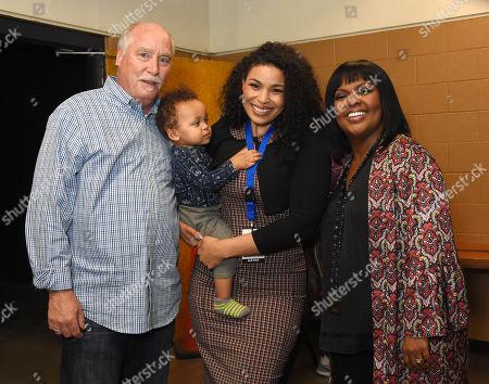 M. Ward, Jordin Sparks, son Dana Isaiah Thomas Jr. and CeCe Winans