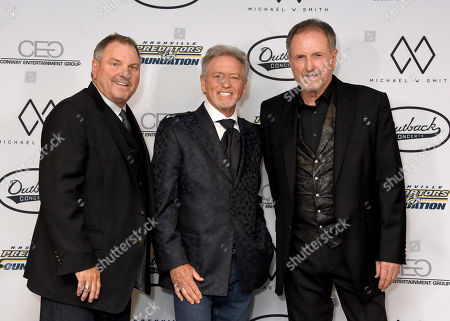 Steve Gatlin, Larry Gatlin and Rudy Gatlin of The Gatlin Brothers