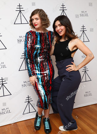 Stock Image of Melinda Lee Holm, Daniella Pineda