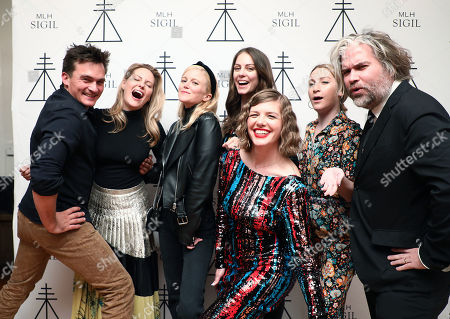 Stock Photo of Rupert Friend, Aimee Mullins, Mereki Beach, Julia Voth, Melinda Lee Holm, Denise Love Hewitt, Chris Holmes