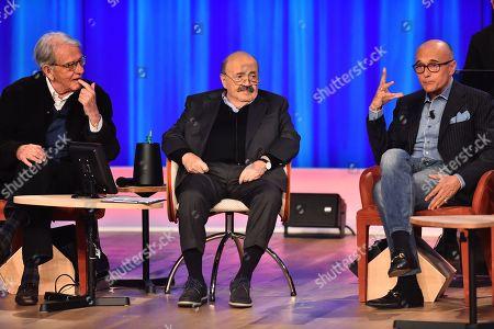 Enrico Lucherini, Maurizio Costanzo, Alfonso Signorini
