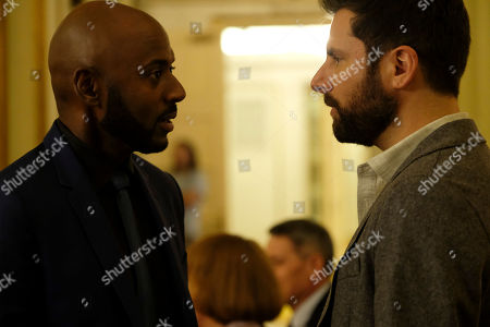 Romany Malco as Rome Howard and James Roday as Gary Mendez