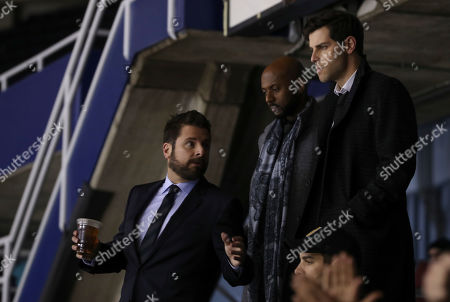 James Roday as Gary Mendez, Romany Malco as Rome Howard and David Giuntoli as Eddie Saville