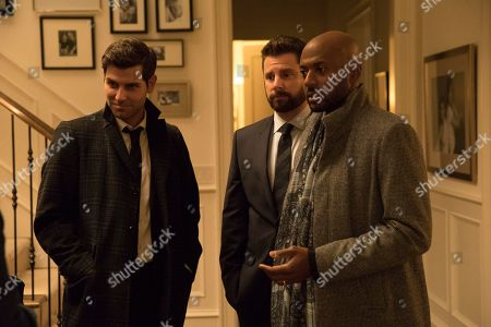 David Giuntoli as Eddie Saville, James Roday as Gary Mendez and Romany Malco as Rome Howard