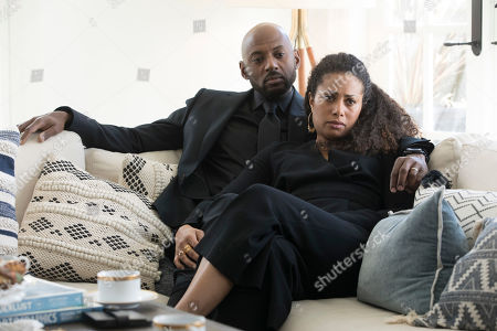 Romany Malco as Rome Howard and Christina Moses as Regina Howard