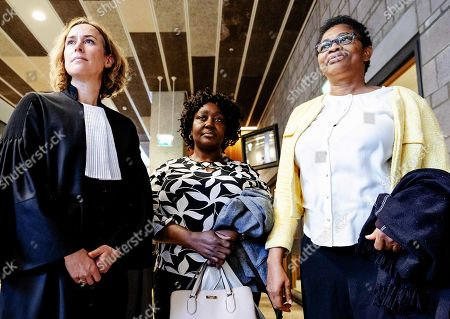 Editorial photo of Trial of Nigerian widows against Shell in The Hague, Netherlands - 01 May 2019