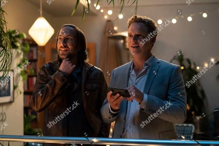Timm Sharp as Quinn and Chris Geere as Jimmy