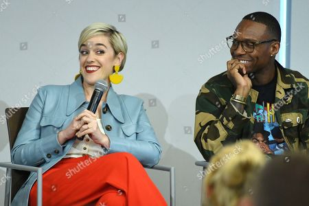 "Lauren Morelli, Ben Corey Jones. Panelists Lauren Morelli and Ben Corey Jones speak at the Television Academy's Writers Peer Group event, ""Writing LGBTQ+ Love and Romance on TV"" at the Saban Media Center on in North Hollywood, Calif"