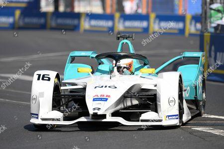 Oliver Turvey (Nio formula E Team) during the practice of the Paris E - prix