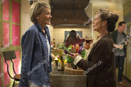 Sharon Stone as Reiki Davis and Celia Imrie as Phyllis