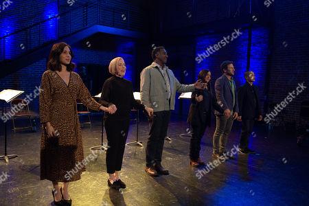 Siri Miller as Ruth, Holland Taylor as herself, Norm Lewis as himself, Pamela Adlon as Sam Fox, Mark Feuerstein as himself and Jon Jon Briones as himself
