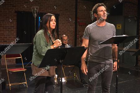 Pamela Adlon as Sam Fox and Jon Jon Briones as himself and Mark Feuerstein as himself