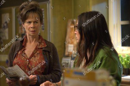 Celia Imrie as Phyllis and Pamela Adlon as Sam Fox