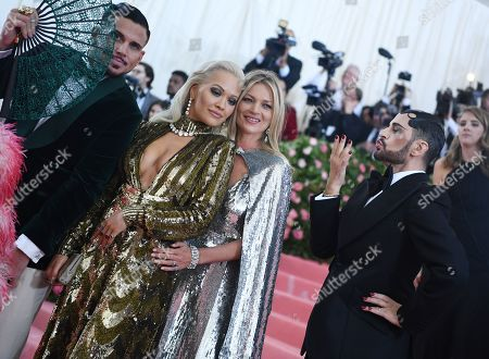 Stock Photo of Char DeFrancesco, Rita Ora, Kate Moss and Marc Jacobs