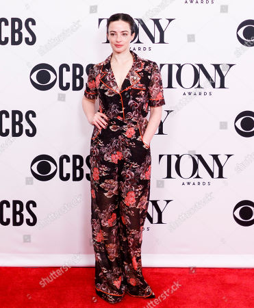 Laura Donnelly, who is nominated for a Tony Award for her performance in the play 'The Ferryman', poses during a press event for the 2019 Tony Award nominees in New York, New York, USA, 01 May 2019. The 2019 Tony Awards will be held on 09 June in New York.