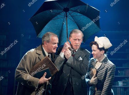 Hugh Bonneville as C.S. Lewis, Andrew Havill as Warnie, Liz White as Joy Gresham