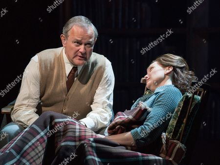Hugh Bonneville as C.S. Lewis, Liz White as Joy Gresham